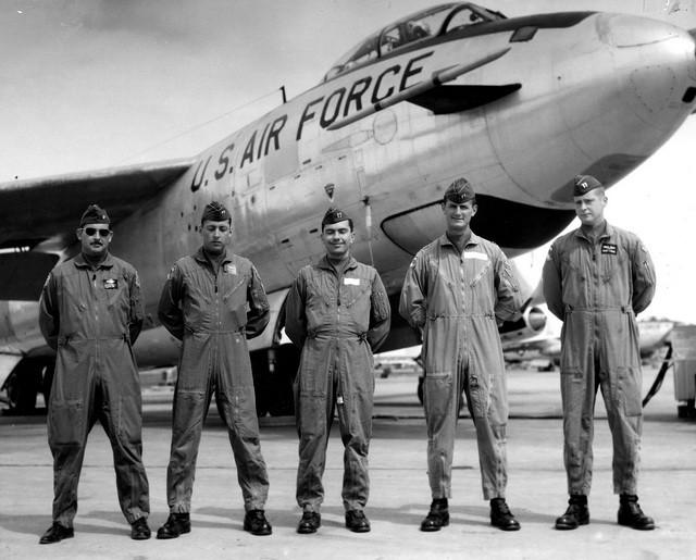 amerika avion rb-47-plane-ufo nlo