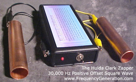 30000HzUnit_Latest_Hulda_Clark_Zapper