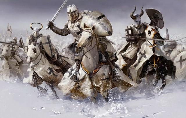 krstasi vitezovi srednji vek