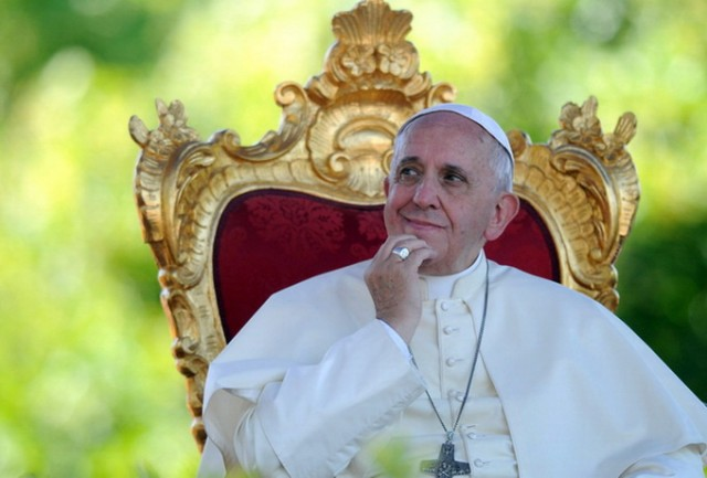 Pope Francis Visits Molise