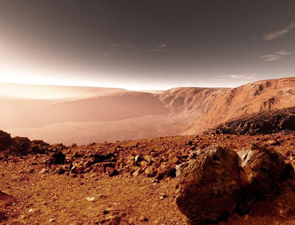 Istraživač otkrio drevne piramide na Marsu
