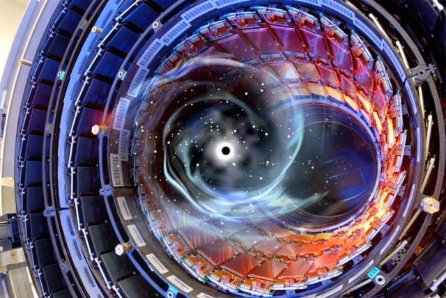 CERN - Black Hole