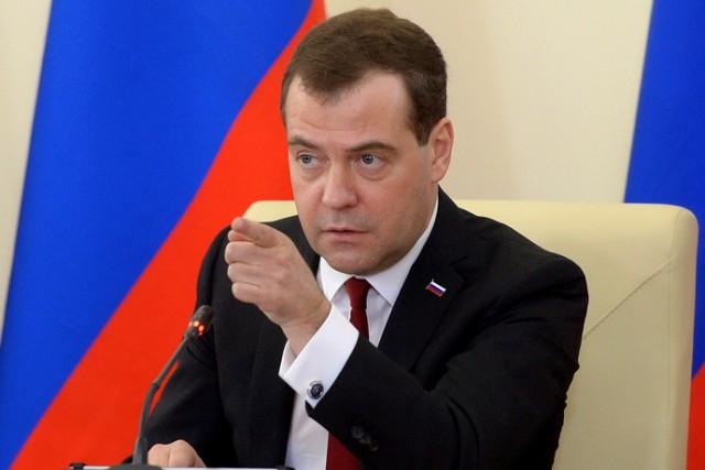 CRIMEA-UKRAINE-RUSSIA-POLITICS-CRISIS-MEDVEDEV
