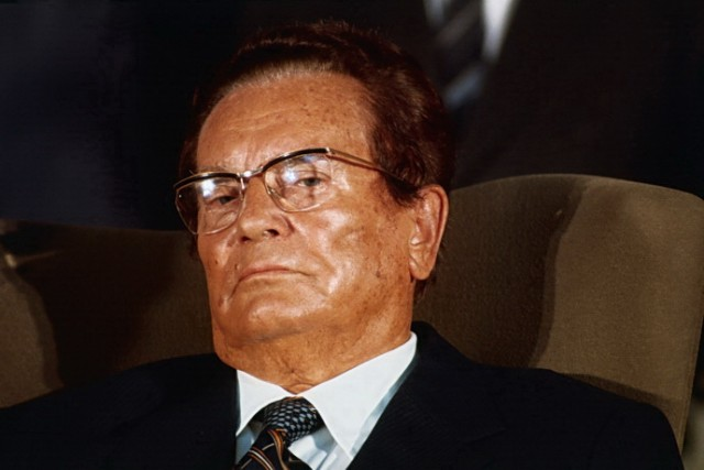 Portrait of Josip Broz Tito