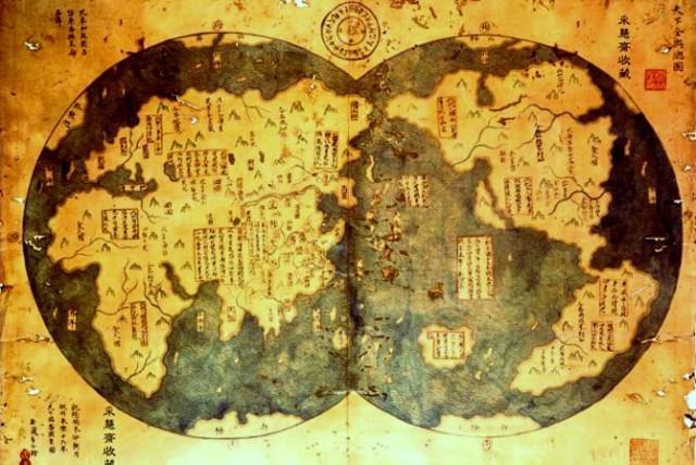 Mapa kina
