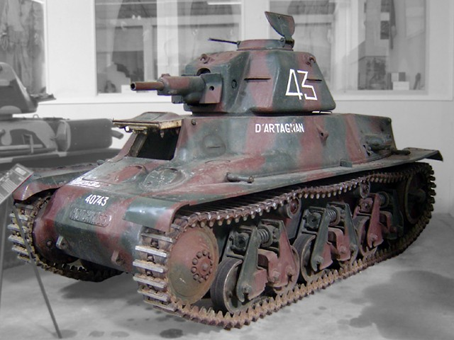 Francuska-tenk-Drugi-svetski-rat