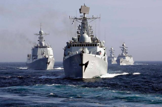 rusija i kina mornarica brodovi