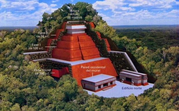 teotihuacan piramida maja