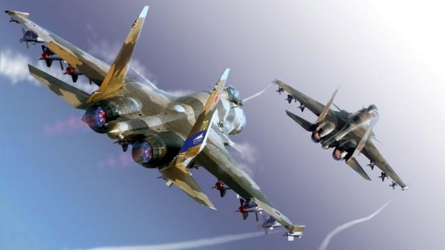 Britanski mediji: Ruski Su-35 bolji od rafala i tajfuna (VIDEO)
