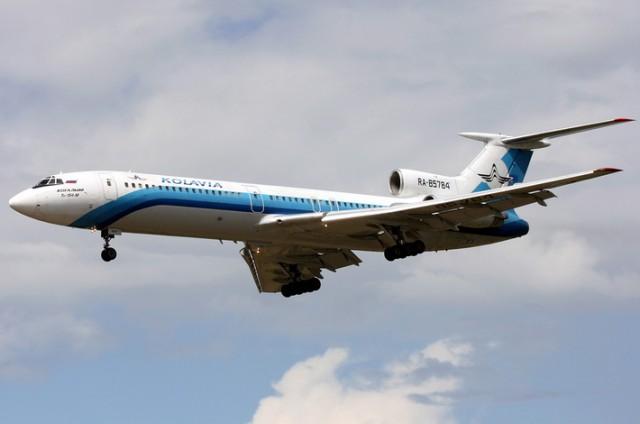 kolavia-tupolev-tu-154m rusija avion