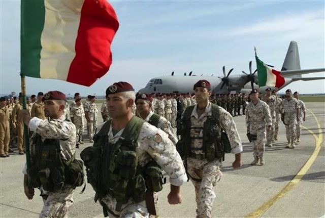 italija vojska nato misija