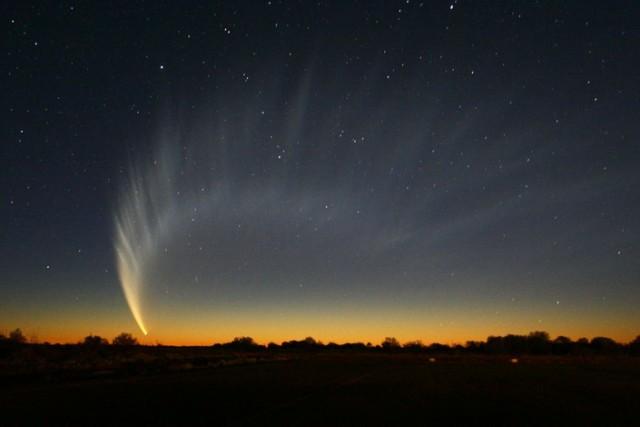 kometa meteor