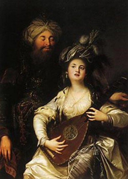 Roxelane-und-der-Sultan hurem i sulejman