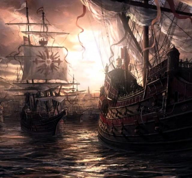 armada brod flota spanija portugalija galija