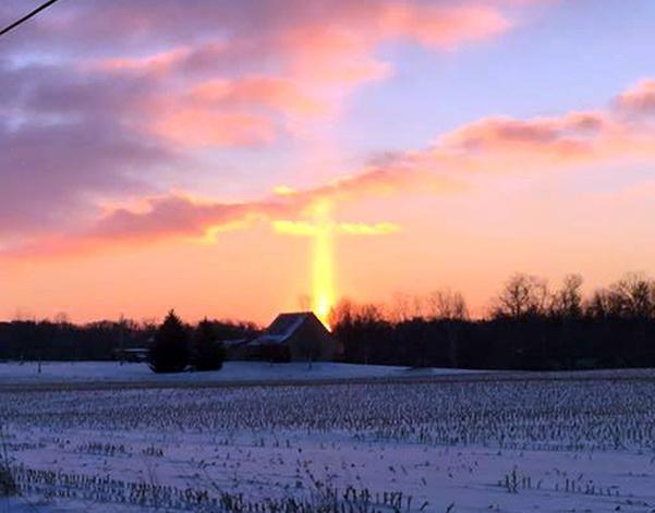 krst sunce znak nebo Bog