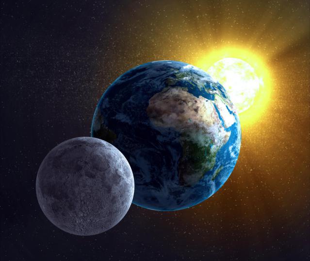 mesec i zemlja hj