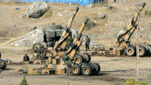 Turske snage granatirale američke trupe na severu Sirije