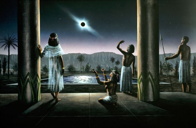 Ancient Egyptians and Solar Eclipse