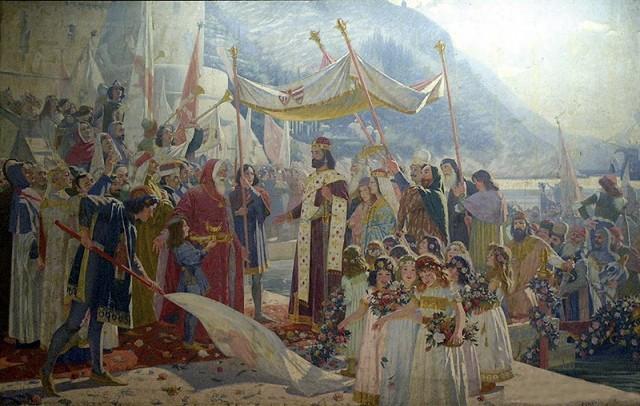 Marko-Murat-Ulazak-cara-Du_ana-u-Dubrovnik-1900