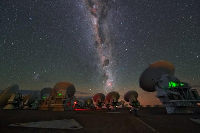 Milky Way over ALMA