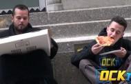 Gladnom beskućniku doneli picu, ono što se zatim desilo će vas ganuti do suza – VIDEO