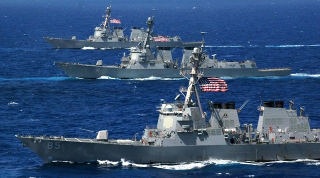AMERIČKI ADMIRAL: Prvi put za četvrt veka američka ratna mornarica suočila se sa suparništvom Rusije i Kine