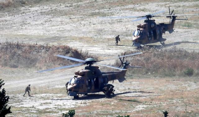 Turska vojska ušla u grad, Kurdi odstupaju