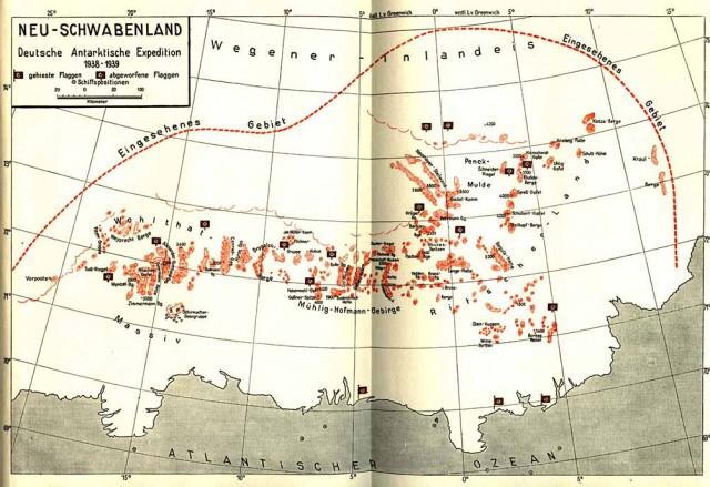 nueva suabia expedicion mapa