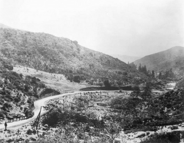 The Cahuenga Pass circa 1905