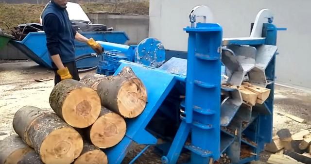 cepanje drva