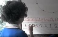 Genijalno dete otkriva tajni geometrijski šablon skriven u tablici množenja sa 4 – VIDEO