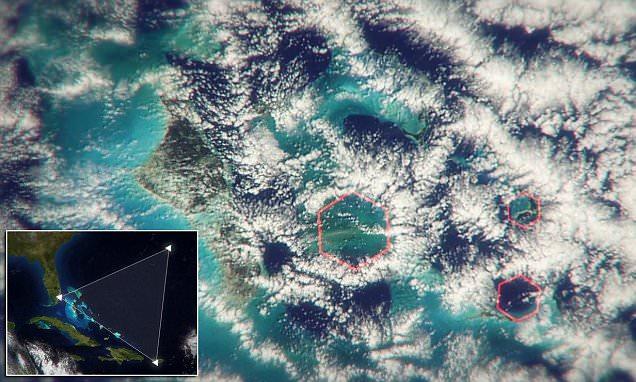 MISTERIJA BERMUDSKOG TROUGLA: Otkriveni čudni šestougaoni oblaci koji stvaraju avio bombe od 270 km/h – VIDEO