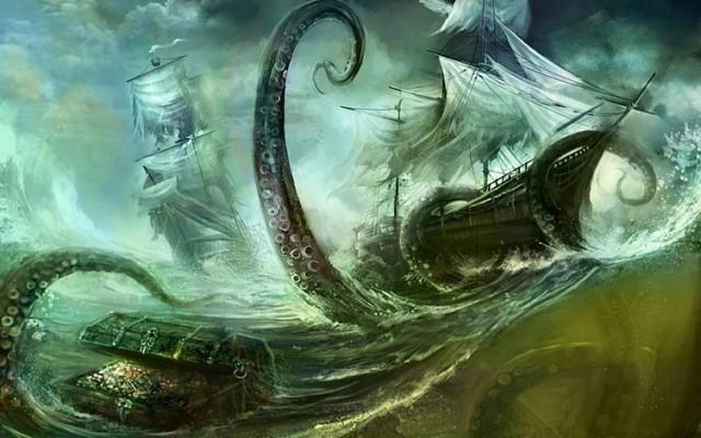 Jezivo otkriće japanskih naučnika: U Bermudskom trouglu postoje džinovske hobotnice koje potapaju brodove