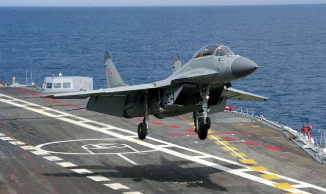 PRVO SIRIJA PA KONAČNI OBRAČUN: Novi ruski MiG-29K lovački avion počinje prve borbe u Siriji – VIDEO