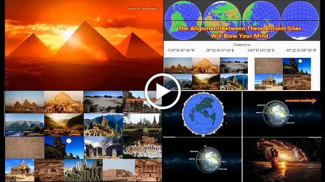 NEOBJAŠNJIVA VEZA: Poravnanje između drevnih mesta koje će vam oduzeti dah – VIDEO