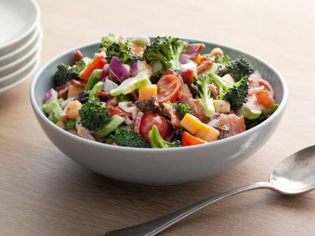 Broccoli Salad; Paula Deen