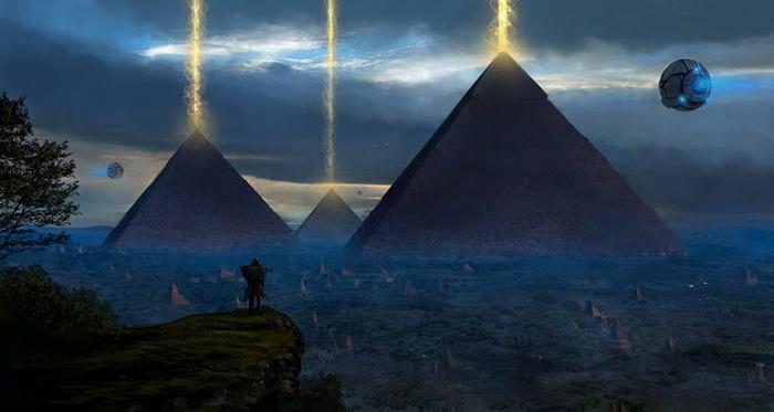 piramide- vanzemaljci