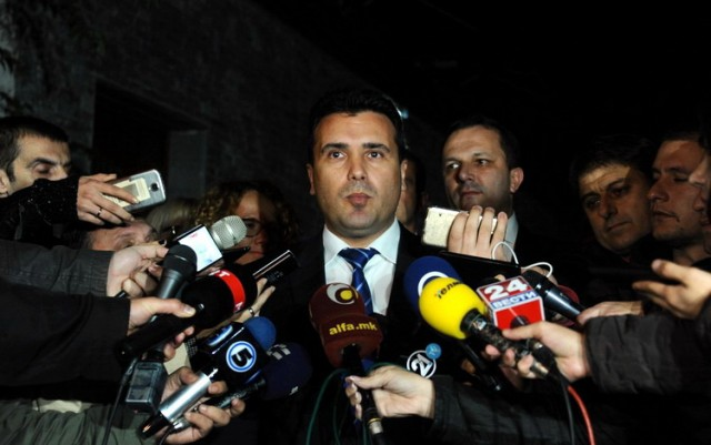 Negotiations in Macedonia