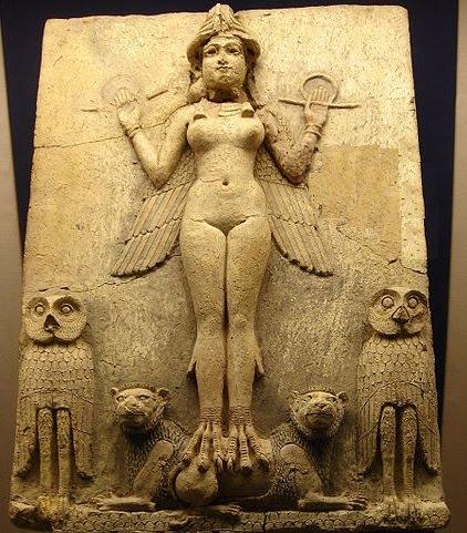 sumer- vavilon- boginja