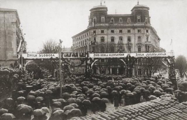 docek-srpske-vojske-u-hrvatskoj-1918