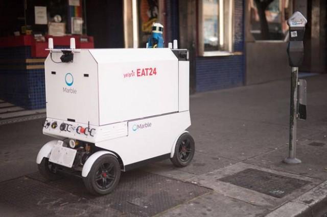 marble robot za hranu
