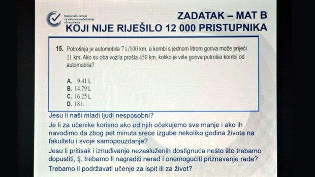 matematika hrvatska test