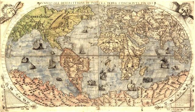 drevna mapa