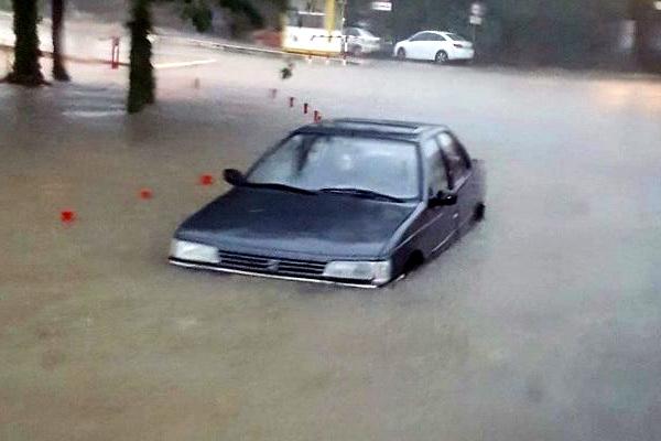 zadar.-poplava