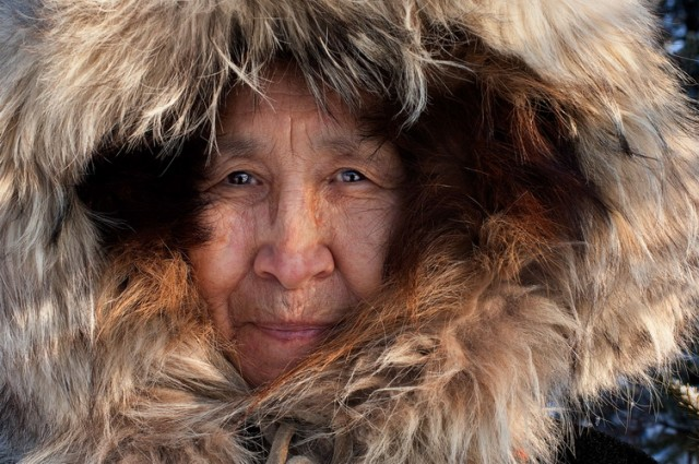 Woman in Bettles, Alaska, 2008
