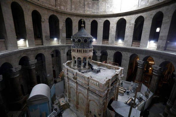 jerusalim- grobnica- Isus- Hrist