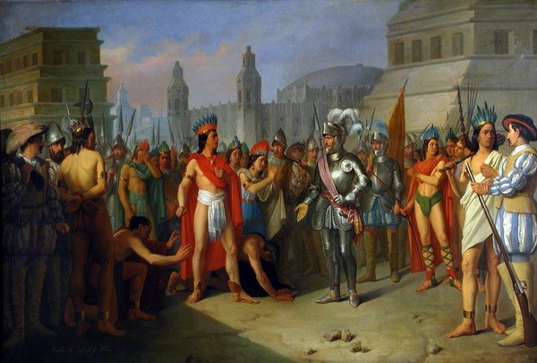 asteke- konkvistadori- spanci- meksiko
