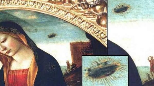 NLO-i su vekovima skriveni na evropskim slikama (VIDEO)