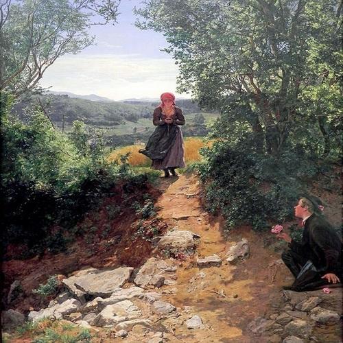 DOKAZ PUTOVANJA KROZ VREME: Slika iz 1850. godine pokazuje ženu koja kuca poruke na mobilnom – VIDEO
