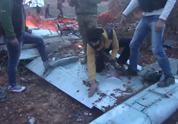 dzihadisti- rusija- avion- sirija